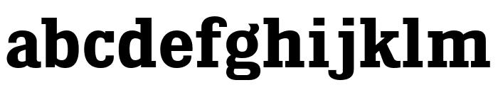KingsbridgeRg-Bold Font LOWERCASE