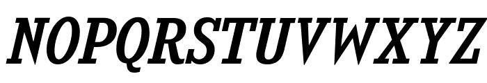 KingsbridgeRg-Italic Font UPPERCASE