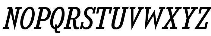 KingsbridgeScBk-Italic Font UPPERCASE