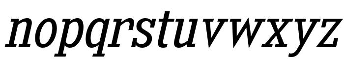 KingsbridgeScBk-Italic Font LOWERCASE