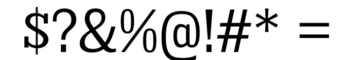 KingsbridgeScBk-Regular Font OTHER CHARS