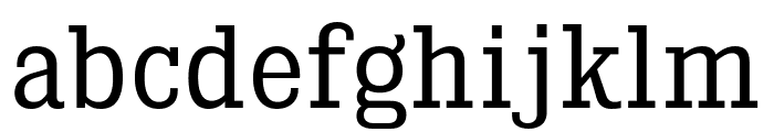 KingsbridgeScBk-Regular Font LOWERCASE