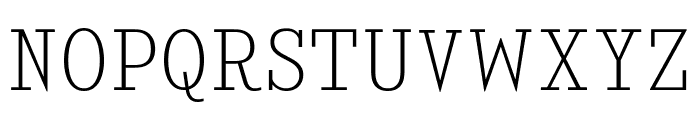 KingsbridgeScEl-Regular Font UPPERCASE