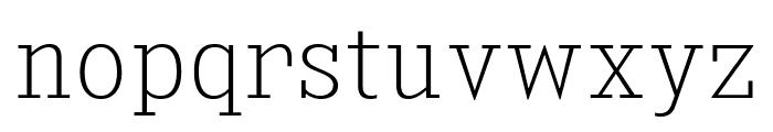 KingsbridgeScEl-Regular Font LOWERCASE