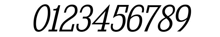 KingsbridgeScLt-Italic Font OTHER CHARS