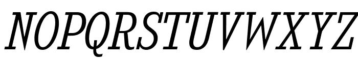 KingsbridgeScLt-Italic Font UPPERCASE