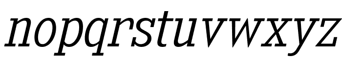 KingsbridgeScLt-Italic Font LOWERCASE