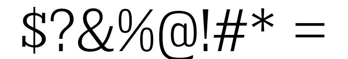 KingsbridgeScLt-Regular Font OTHER CHARS