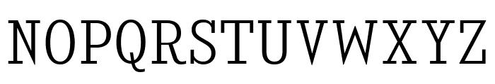 KingsbridgeScLt-Regular Font UPPERCASE