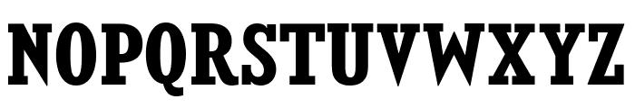 KingsbridgeScRg-Bold Font UPPERCASE