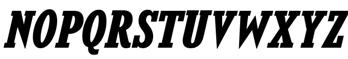 KingsbridgeScRg-BoldItalic Font UPPERCASE