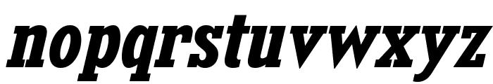 KingsbridgeScRg-BoldItalic Font LOWERCASE