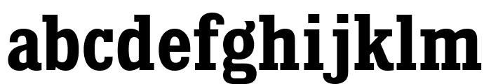 KingsbridgeScRg-Bold Font LOWERCASE
