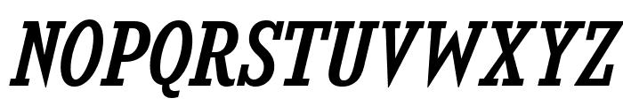 KingsbridgeScRg-Italic Font UPPERCASE