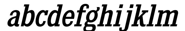 KingsbridgeScRg-Italic Font LOWERCASE