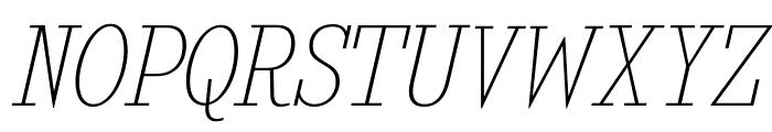 KingsbridgeScUl-Italic Font UPPERCASE