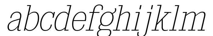 KingsbridgeScUl-Italic Font LOWERCASE