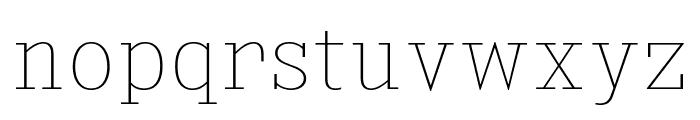 KingsbridgeScUl-Regular Font LOWERCASE