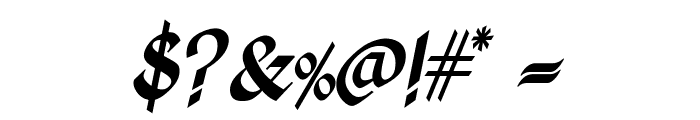 Kingthings Calligraphica Italic Font OTHER CHARS