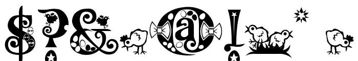 Kingthings Eggypeg Font OTHER CHARS