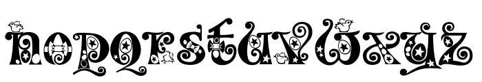 Kingthings Eggypeg Font LOWERCASE