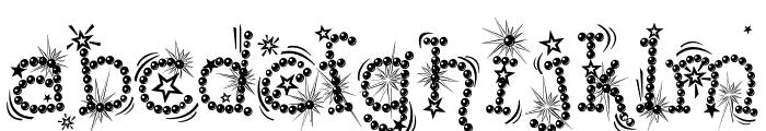 Kingthings Flashbang Font LOWERCASE
