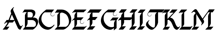 Kingthings Foundation Font UPPERCASE