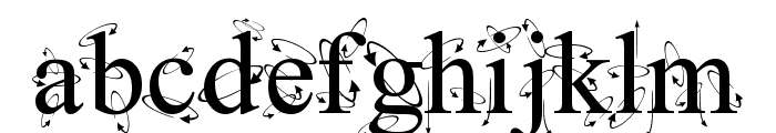 Kingthings Frontwards Font LOWERCASE