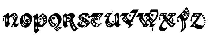Kingthings Gothique Font LOWERCASE