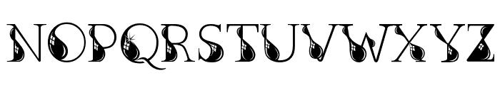 Kingthings Inkydinky Font UPPERCASE