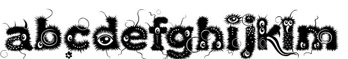 Kingthings Lupine Font LOWERCASE