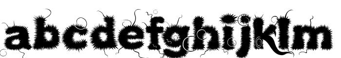Kingthings Lupineless Font LOWERCASE