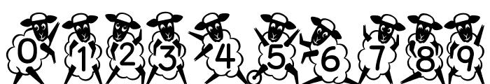 Kingthings Sheepishly Font OTHER CHARS