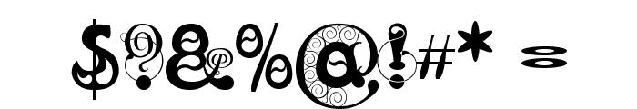Kingthings Slipperylip Font OTHER CHARS