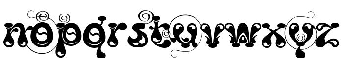 Kingthings Slipperylip Font LOWERCASE