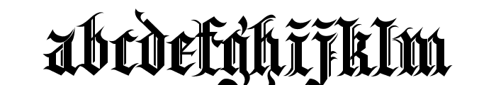 Kingthings Spikeless Font LOWERCASE
