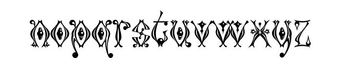 Kingthings Tendrylle Font LOWERCASE