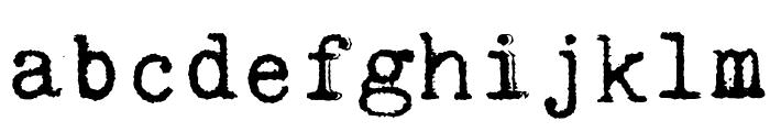 Kingthings Trypewriter 2 Font LOWERCASE