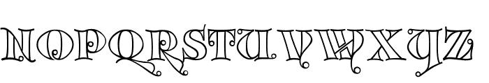 Kingthings Versalis Font UPPERCASE
