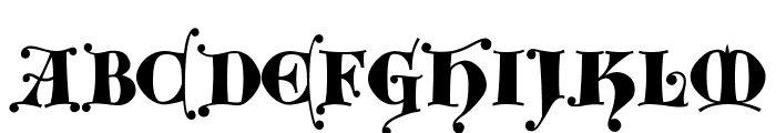 Kingthings Versalis Font LOWERCASE