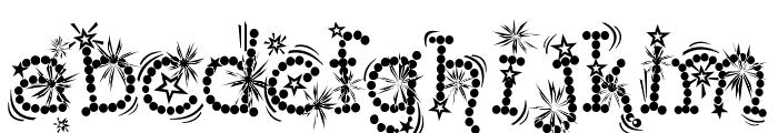 Kingthings Whizzbang Font LOWERCASE