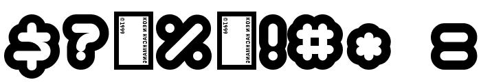 Kinkimono Font OTHER CHARS