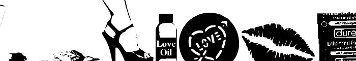 Kinky Valentine Font UPPERCASE