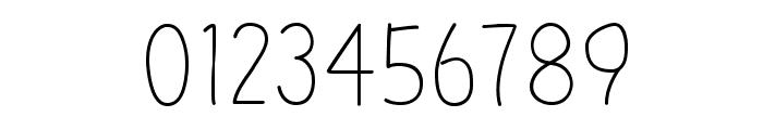 Kinoko-Regular Font OTHER CHARS
