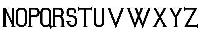 Kiona Font UPPERCASE