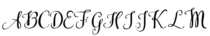 Kiraly Demo Font UPPERCASE