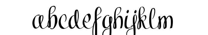 Kiraly Demo Font LOWERCASE