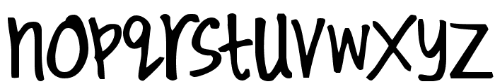 Kirby Font LOWERCASE