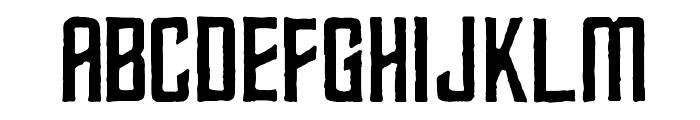 Kirok Font LOWERCASE