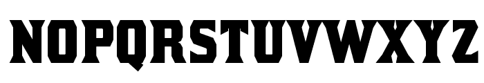 Kirsty-Bold Font LOWERCASE